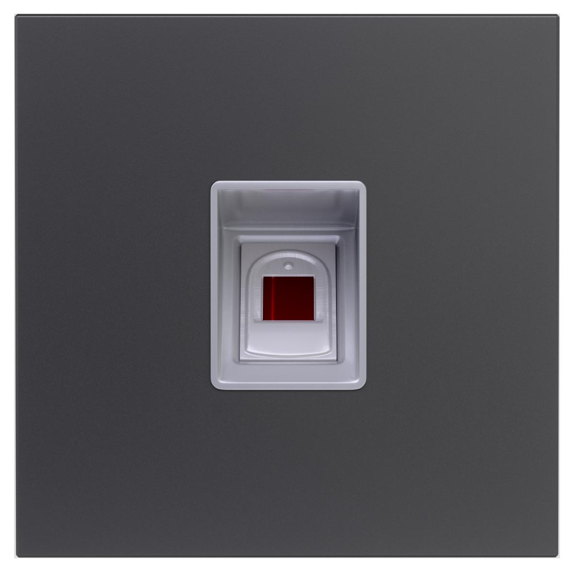 Modul Fingerprint - Hybrid Türsprechanlage Türklingel Anthrazit