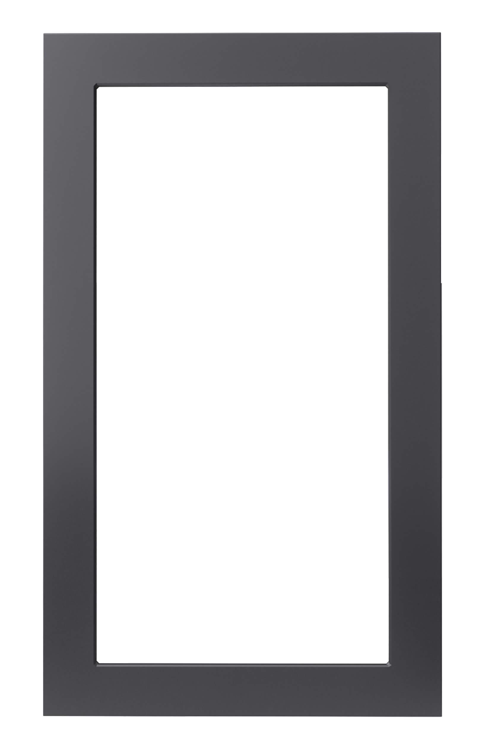 2er Rahmen - Hybrid Türsprechanlage Anthrazit