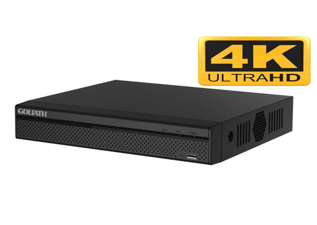8 Kanal - IP NVR Recorder Ultra-HD 4K