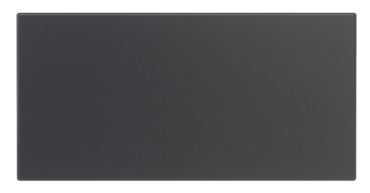 Modul Blanko - Hybrid Türsprechanlage Türklingel Anthrazit