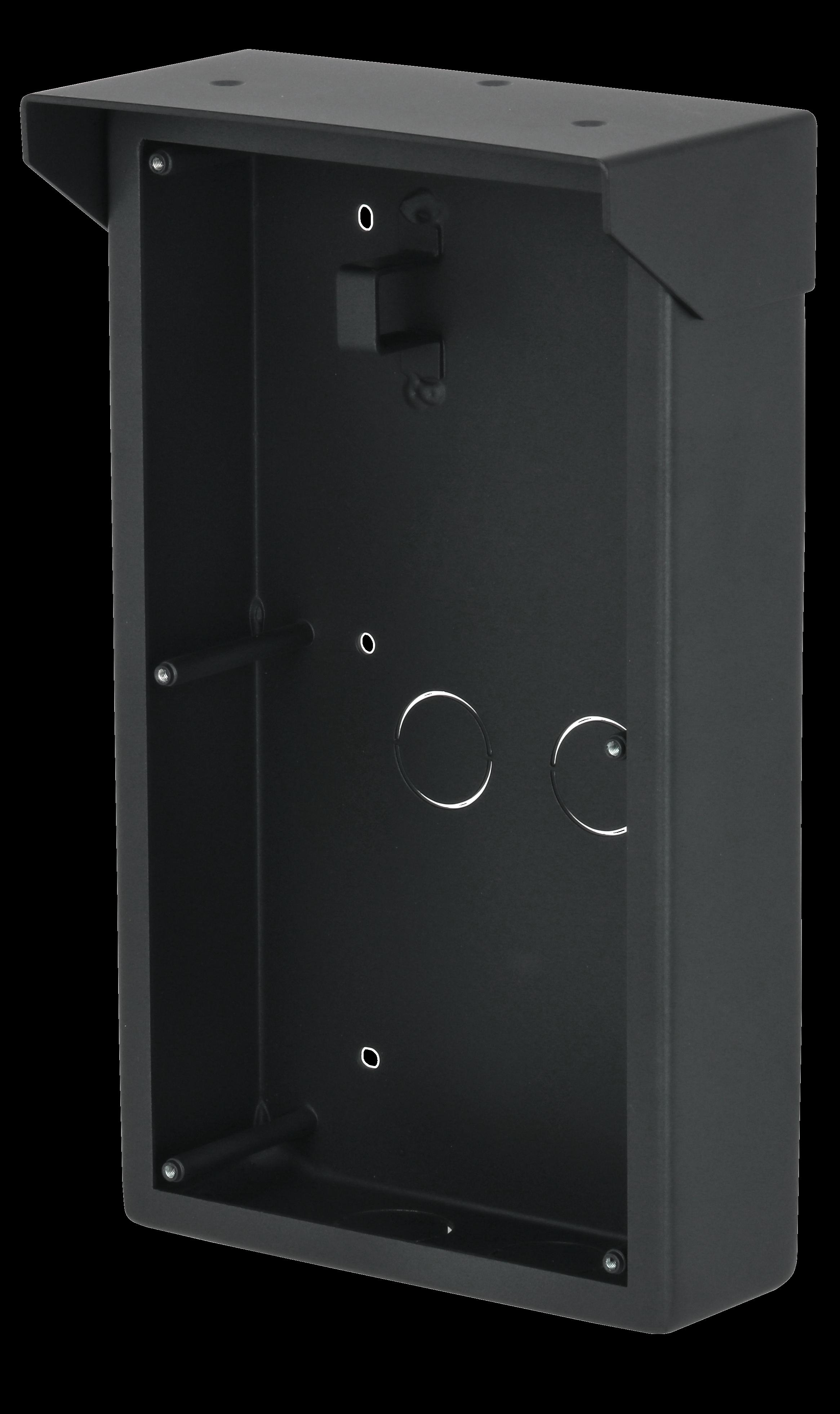 2er Aufputzdose - Hybrid Türsprechanlage Anthrazit
