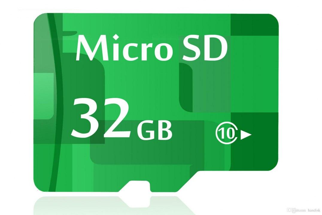 MicroSD Karte 32 GB für Sprechanlagen
