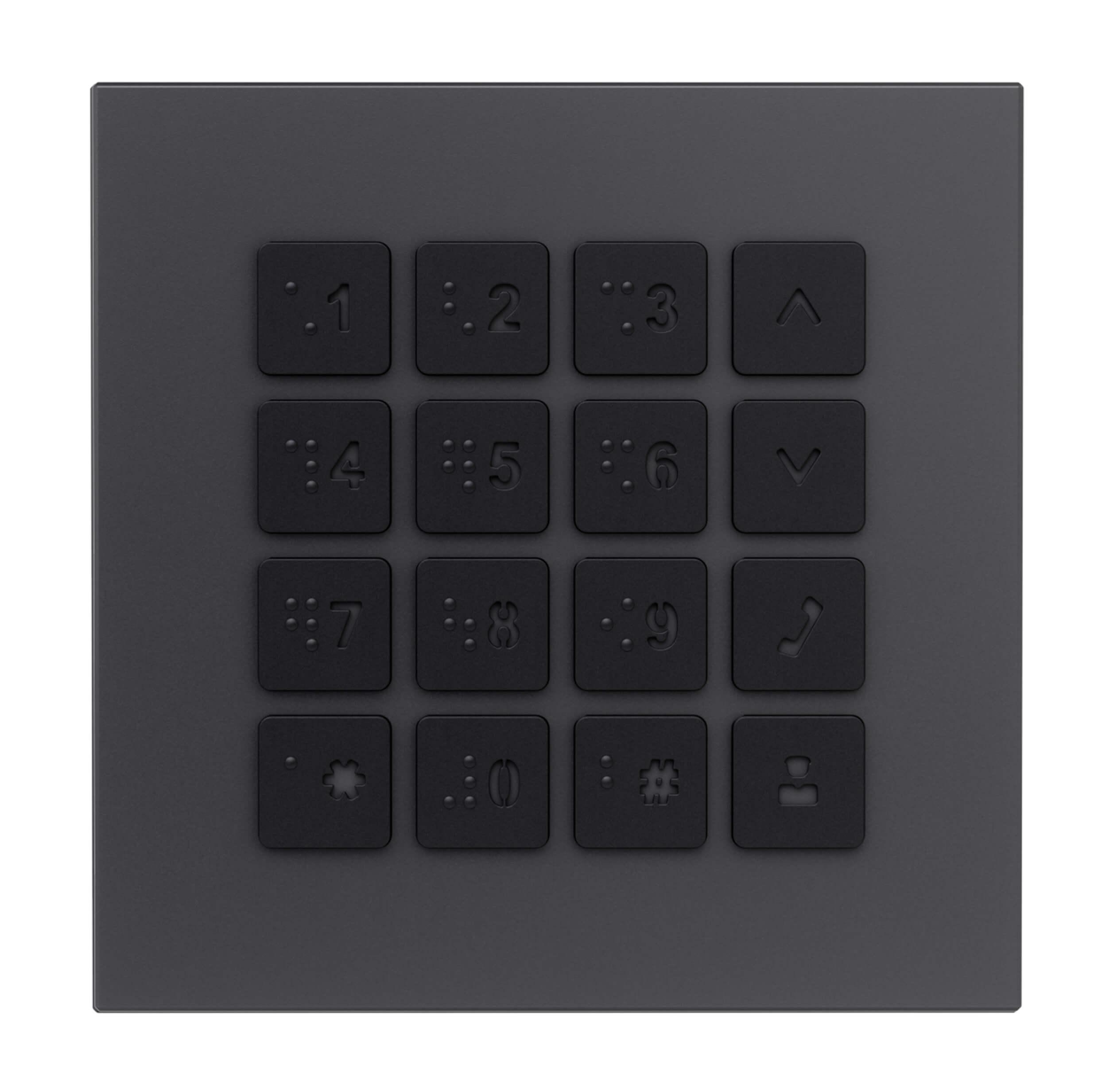 Modul Keypad - Hybrid Türsprechanlage Anthrazit